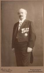 Thumbnail image of Photograph of Georg Luger taken at his 40th wedding anniversary, February, 1913