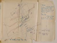 Thumbnail image of First World War trench raid map belonging to Harry Drinkwater, Western Front, 1914-1918