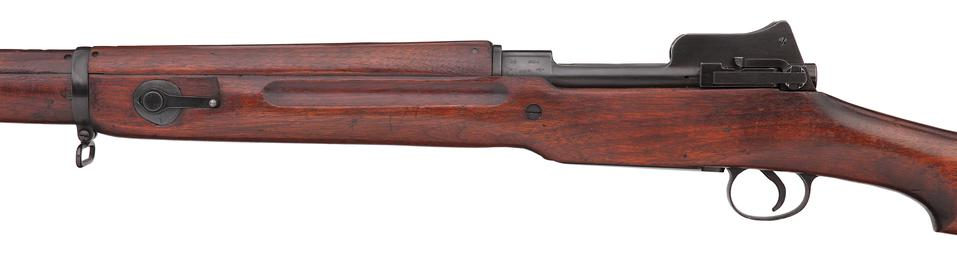 Centrefire bolt-action magazine military rifle