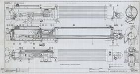 Thumbnail image of Technical drawing for the identification of components of ' Gun, machine, Vickers, .303 inch Mark I /L/N,' From the Royal Small Arms Factory, Enfield, Britain