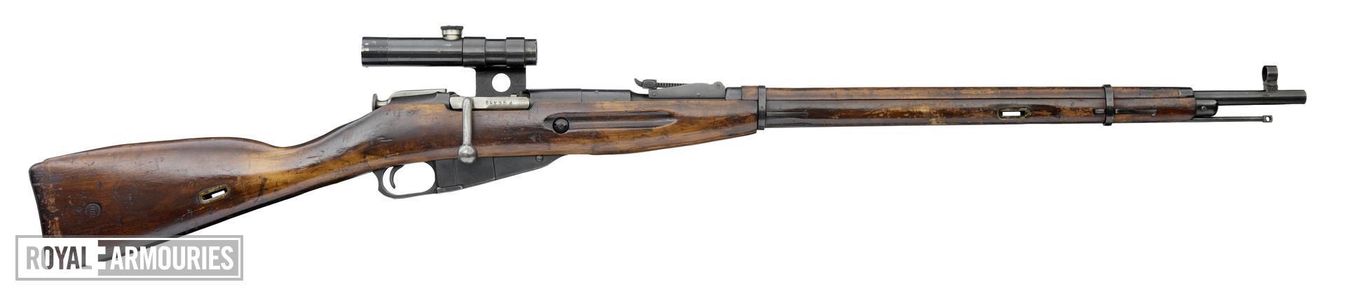 Centrefire bolt-action rifle - Mosin-Nagant Model 1891/30