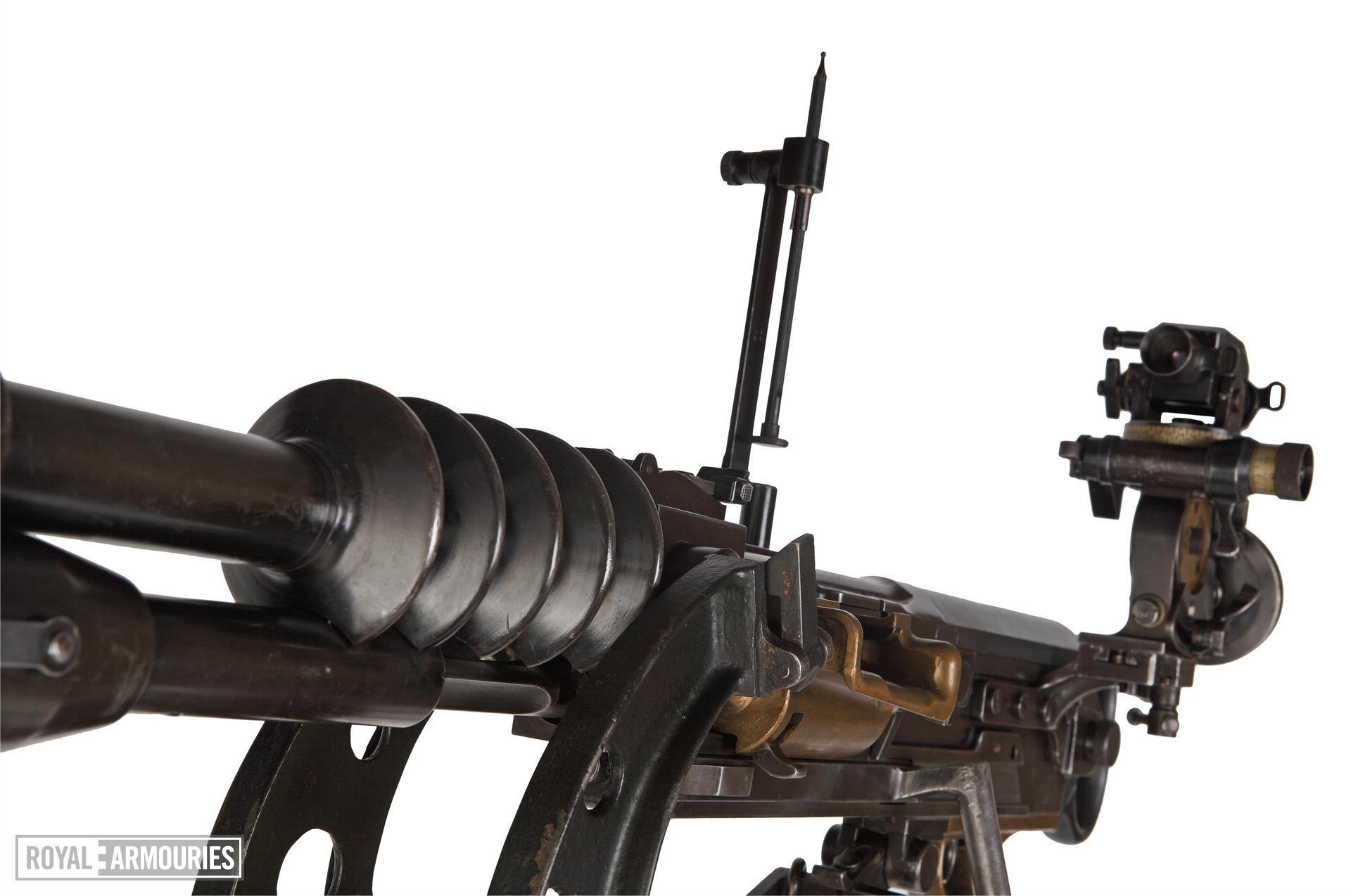 Hotchkiss Modèle 1914 machine gun - Arms of the First World War