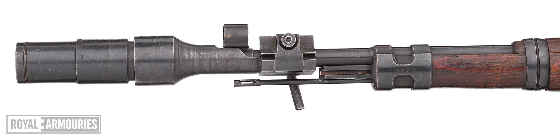 Grenade discharger