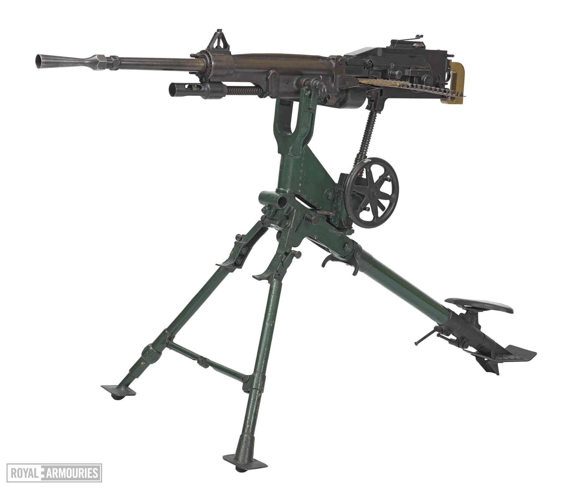 Saint Étienne Modèle 1907 machine gun - Arms of the First World War