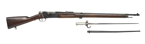 Thumbnail image of Modèle 1886/93 'Lebel' rifle and bayonet - Arms of the First World War