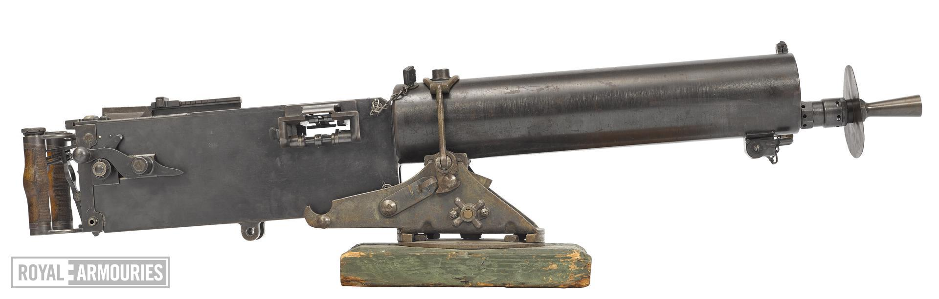 Maxim MG 08 machine gun - Arms of the First World War