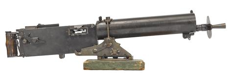 Thumbnail image of Maxim MG 08 machine gun - Arms of the First World War
