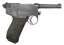 Thumbnail image of Glisenti Model 1910 centrefire self loading pistol , Italy, 1910-1915