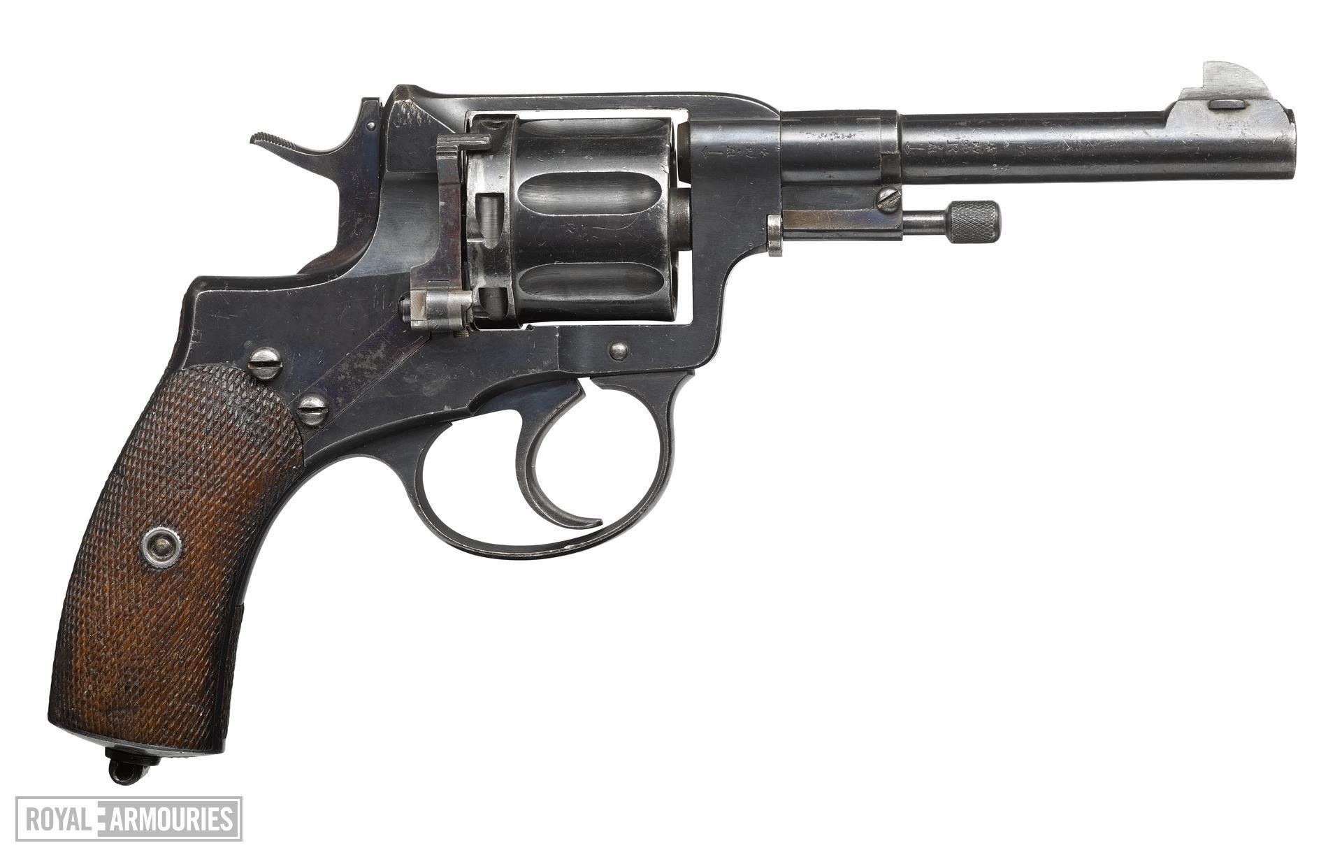 Nagant Model 1895 centrefire six shot revolver, Russia, 1898