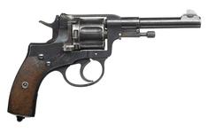 Thumbnail image of Nagant Model 1895 centrefire six shot revolver, Russia, 1898
