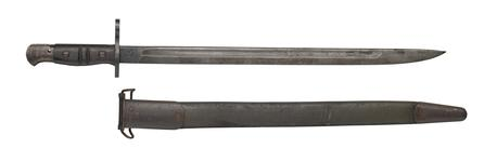 Thumbnail image of Model of 1917 bayonet for Winchester Model 1897 shotgun.