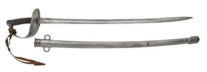 Thumbnail image of Infantry officer's sword with steel scabbard, Germany, 1914-1918