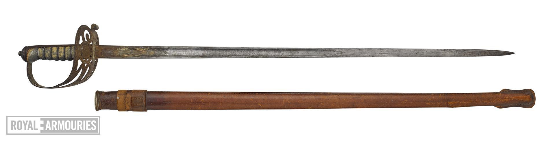 Coldstream Guards 1892 Officer's Sword