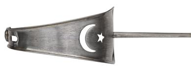 Thumbnail image of Military sword and scabbard, Turkish, about 1914-1918.