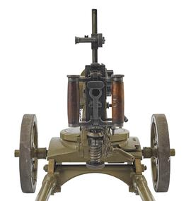 Centrefire automatic machine gun