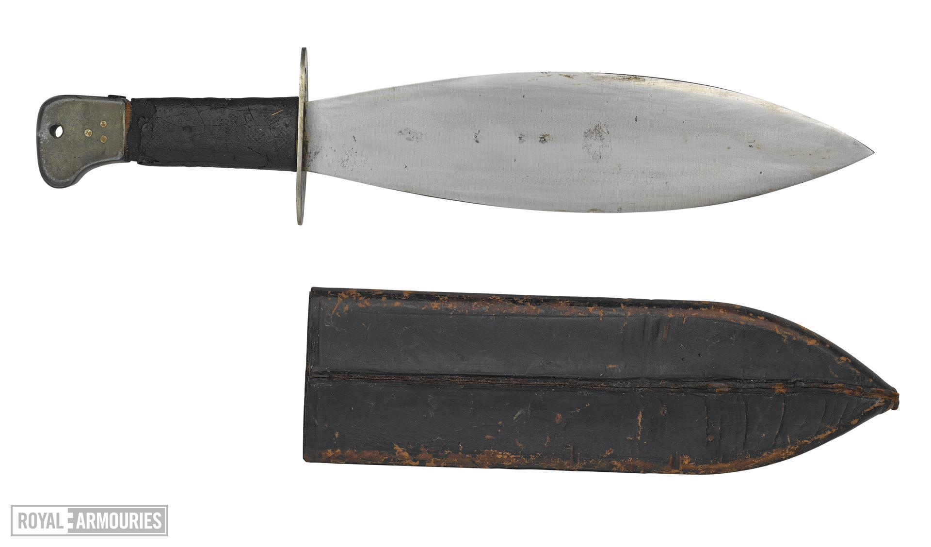 Welsh knife - Arms of the First World War
