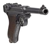 Thumbnail image of Luger model P08 centrefire self loading pistol, Germany, 1911, manufactured by Erfurt, serial No. 1.