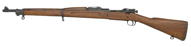 Thumbnail image of Springfield Model 1903 Mk.I centrefire bolt action rifle, United States, about 1903. For Pedersen device, by Springfield Armoury.