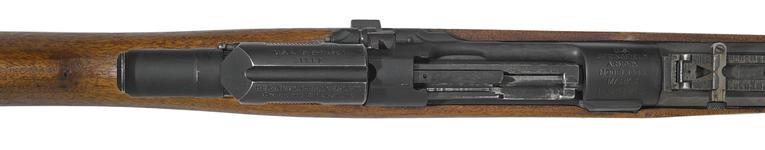 Thumbnail image of Model of 1903 Mark 1 Springfield rifle with Pedersen Device and M1905 bayonet - Arms of the First World War