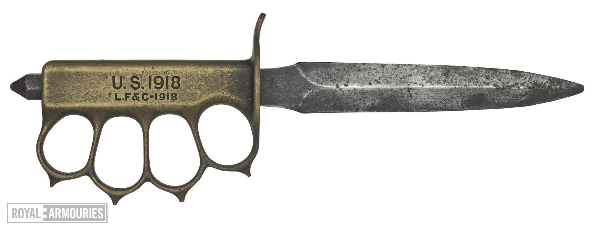 Model of 1917 Trench Knife - Arms of the First World War