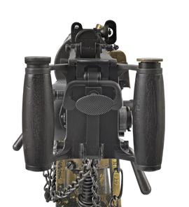 Centrefire automatic belt-fed machine gun