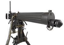 Thumbnail image of Vickers Mk.I centrefire belt fed machine gun, British, early 20th century.