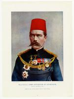 Thumbnail image of Print of Major General Lord Kitchener of Khartoum, G.C.B, K.C.M.G., R.E., Chief of the Staff, South African Field Force.