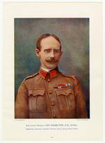 Thumbnail image of Lieutenant-General Ian Hamilton, C.B., D.S.O., Commanding Mounted Infantry Division, South African Field Force. Navy and Army Ilustrated.
