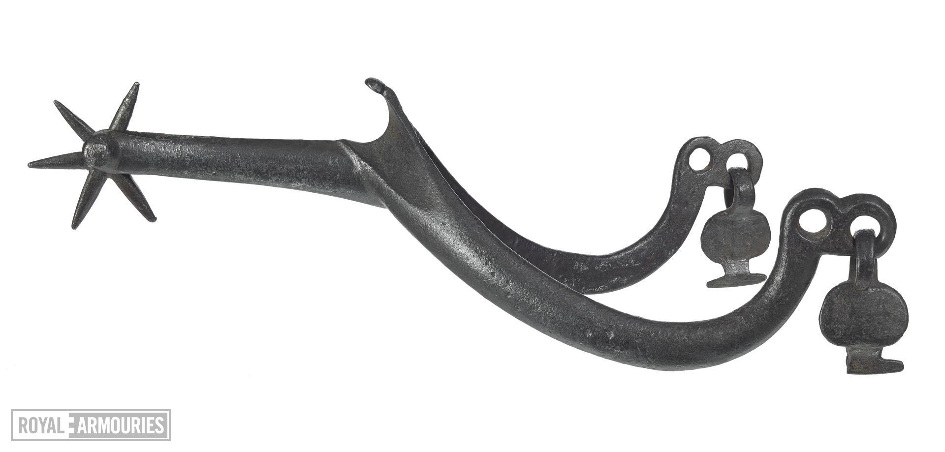 Rowel spur, early 15th century, European (VI.360)