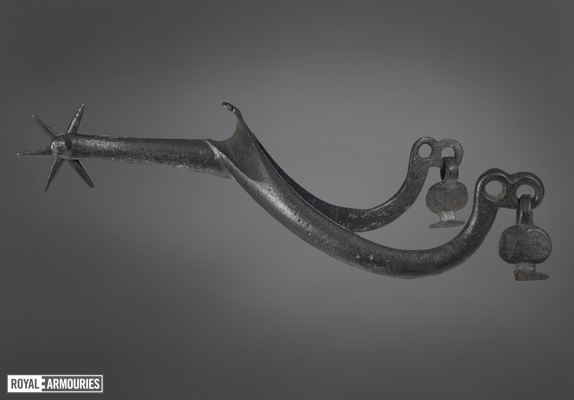 Rowel spur, early 15th century, European (VI.360)