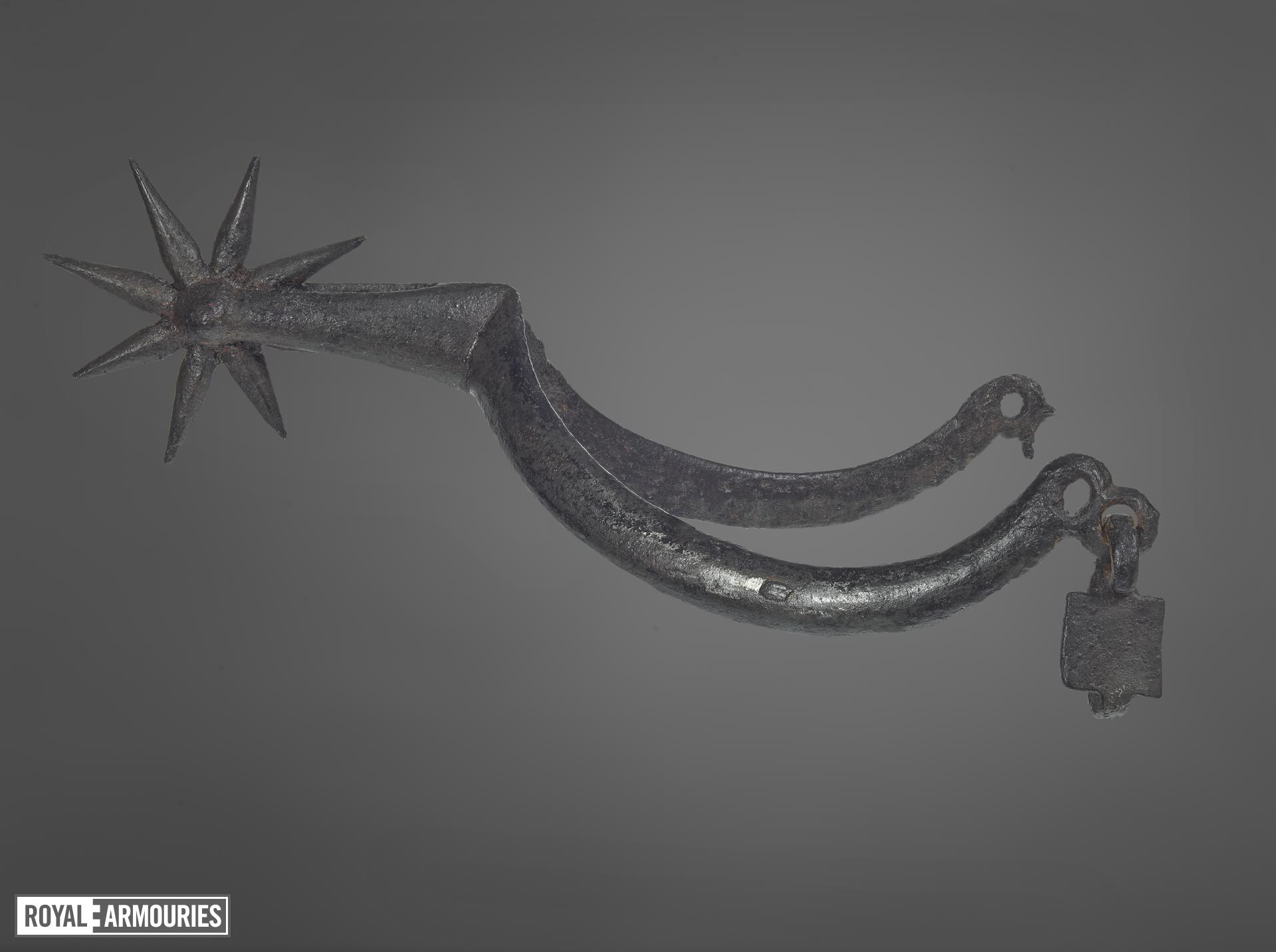 Rowel spur, European, early 15th century (VI.270)