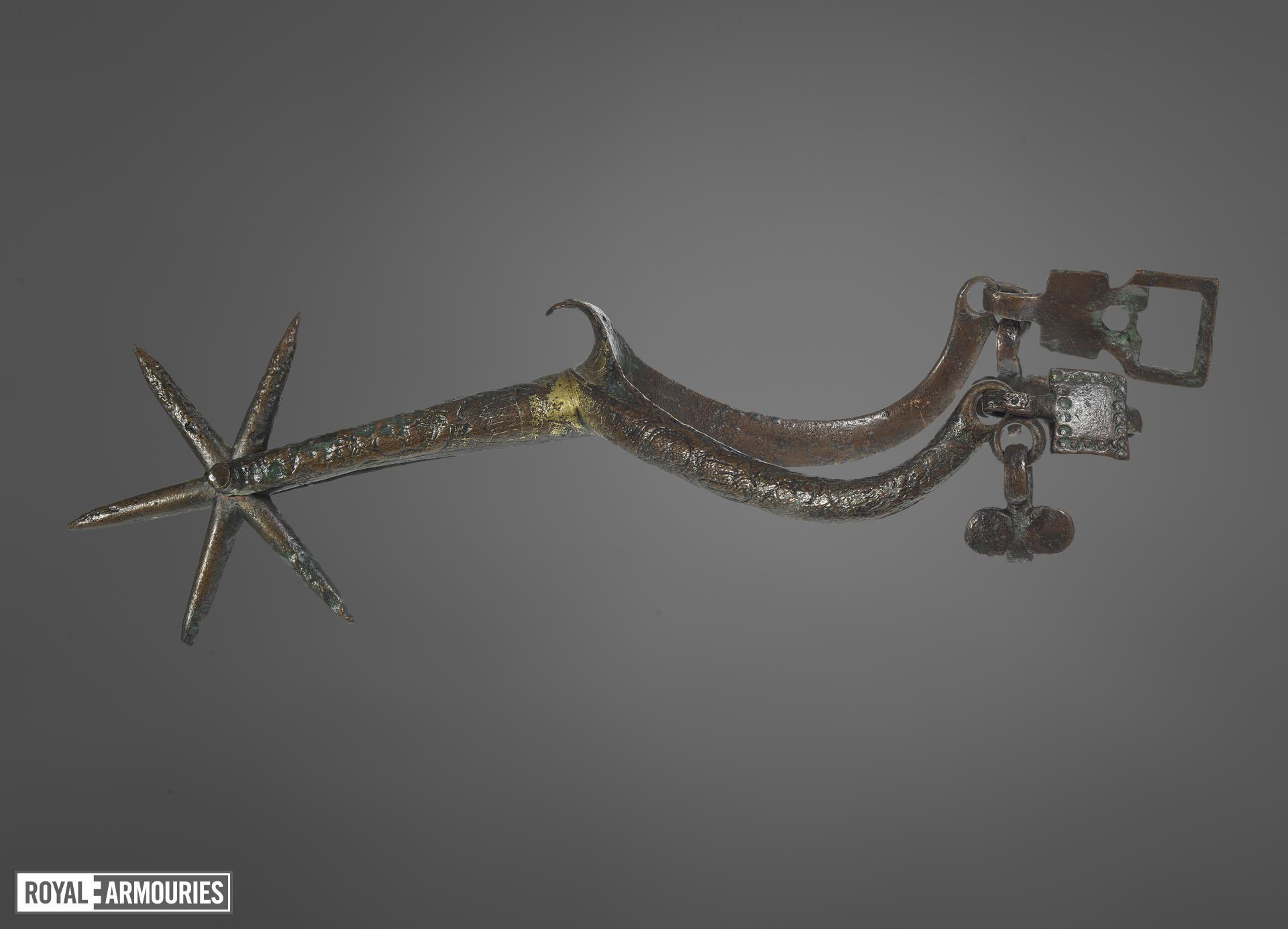 Rowel spur, European, about 1400 (VI.342 A)