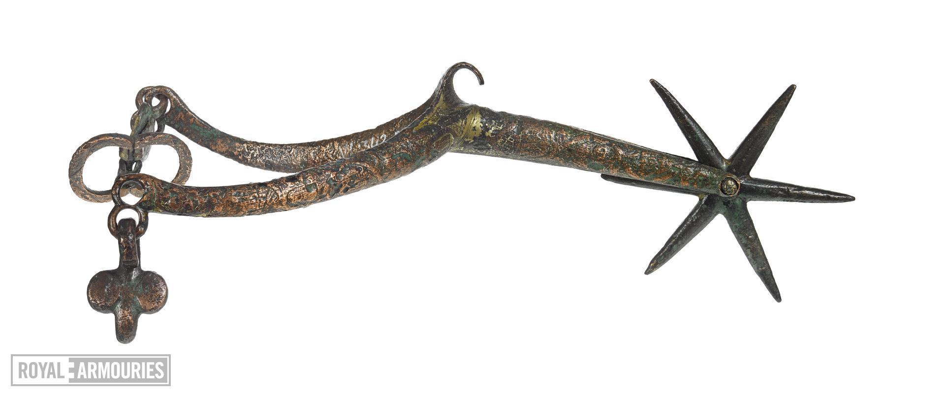 Rowel spur, European, about 1400 (VI.342 B)
