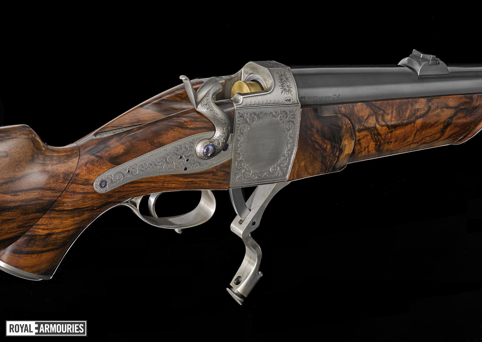 Centrefire breech-loading sporting rifle - The Millennium Gun