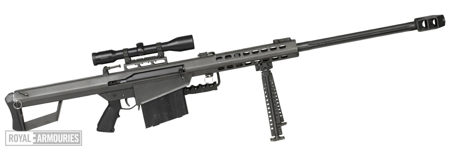 Centrefire self-loading rifle - Barrett M82A1