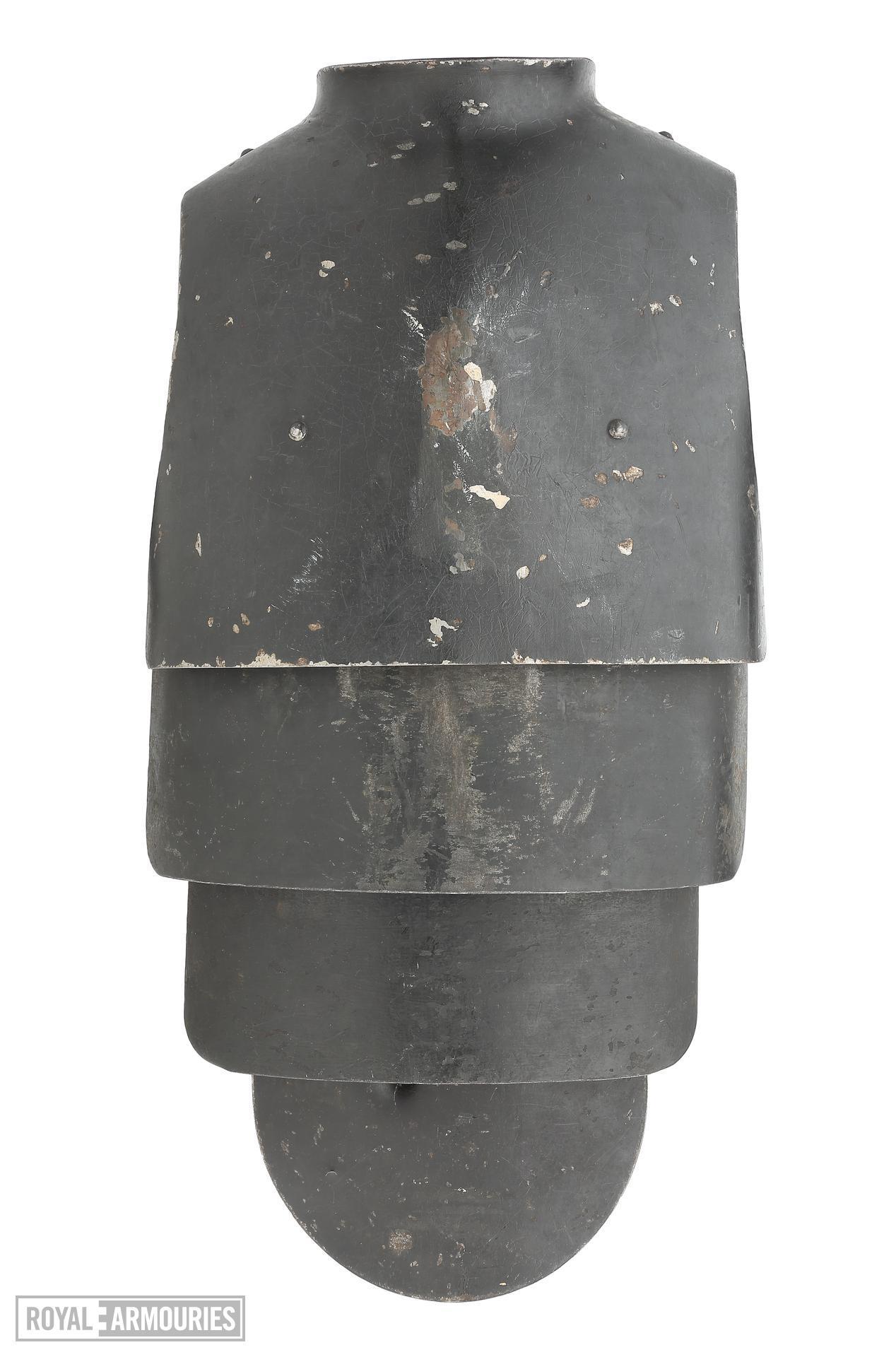 Body armour - Machine gunner's armour (Sappenpanzer)