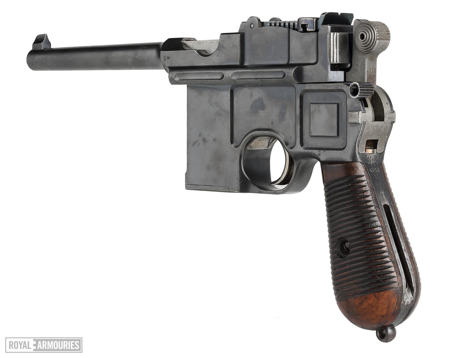 Centrefire self-loading pistol - Mauser C96