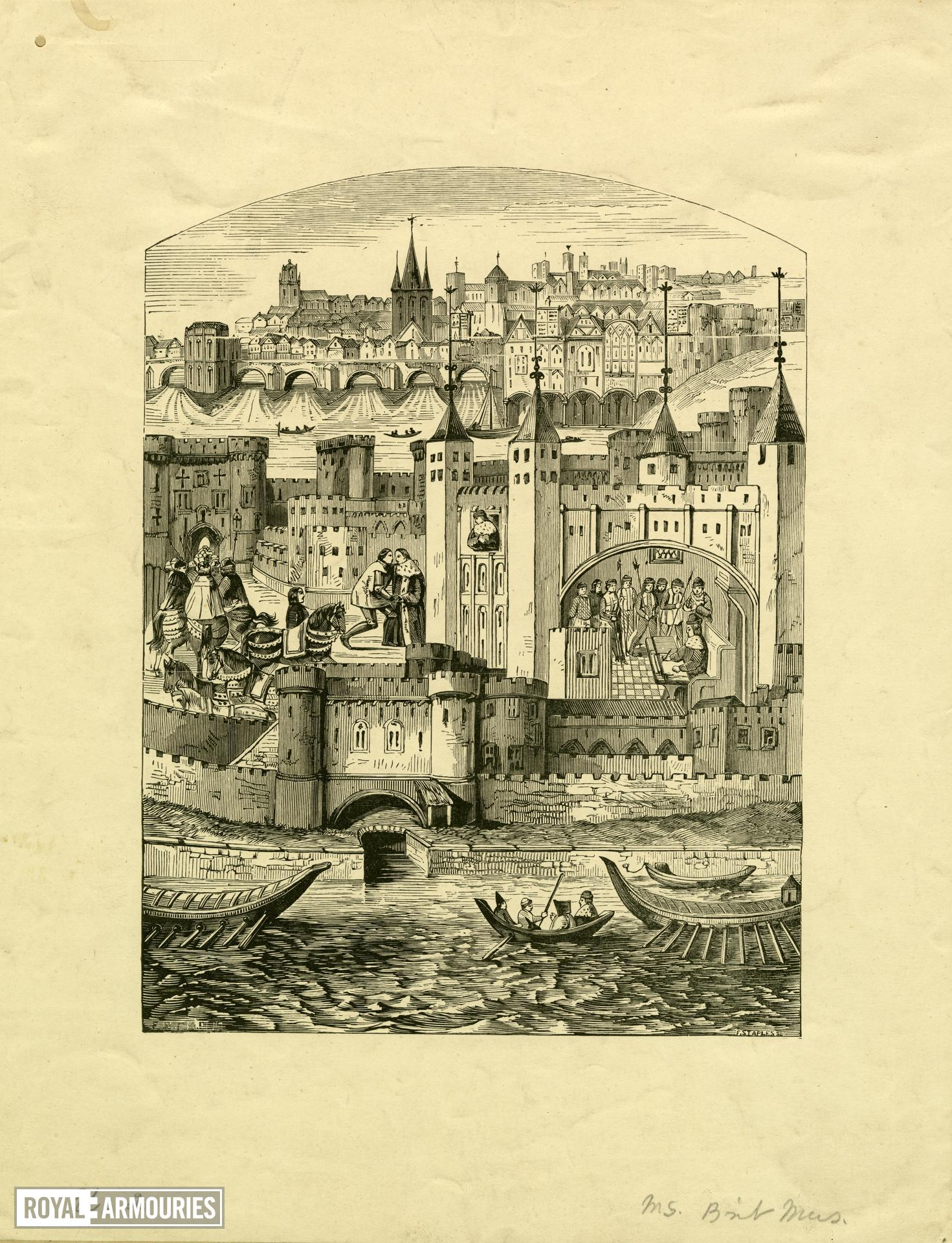 Duke of Orleans in the Tower of London