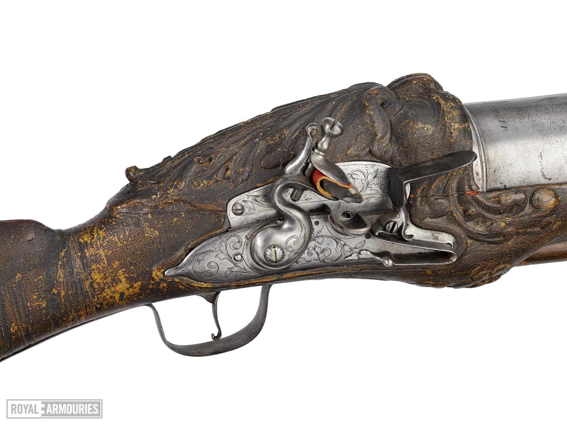 Flintlock firework gun - by James Ermendinger