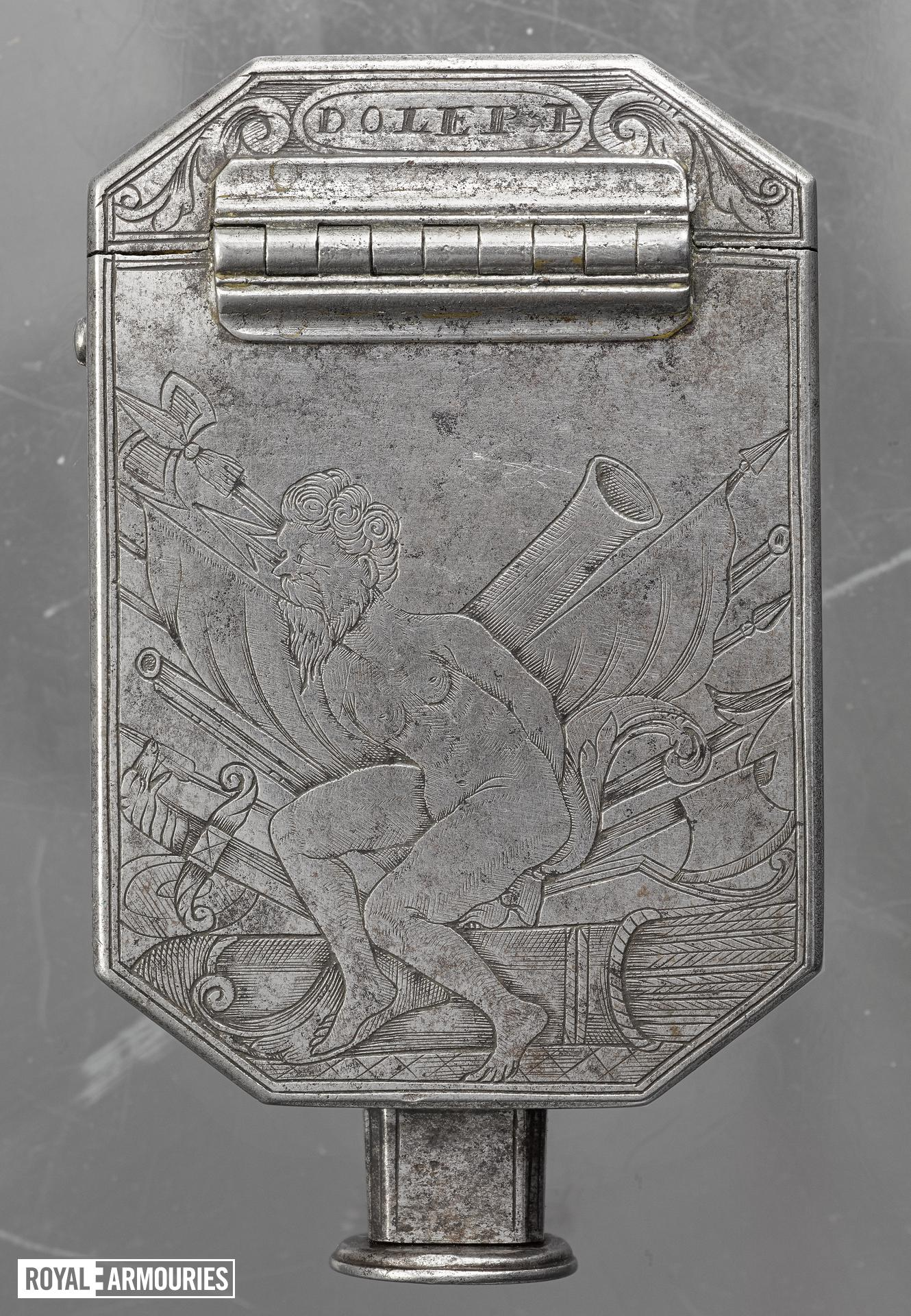 Pocket set of gunmakers tools By Andrew Dolep For the Grand Duke of Tuscany XIII.192