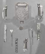 Thumbnail image of Pocket set of gunmakers tools By Andrew Dolep For the Grand Duke of Tuscany XIII.192