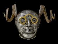 Thumbnail image of X-Ray of Armet of King Henry VIII (known as the Horned Helmet), Austrian, Innsbruck, 1511-14 (IV.22)