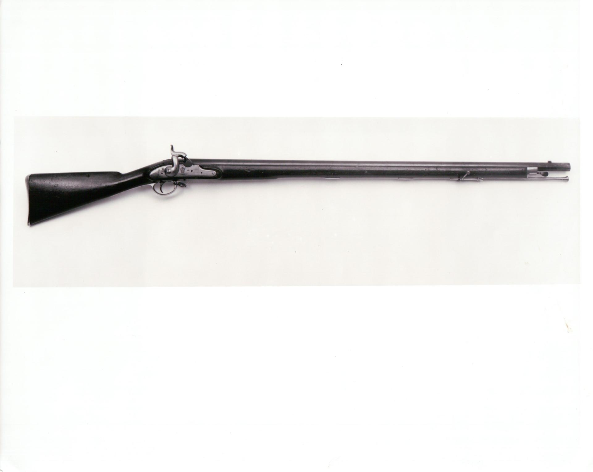 Percussion muzzle-loading military musket