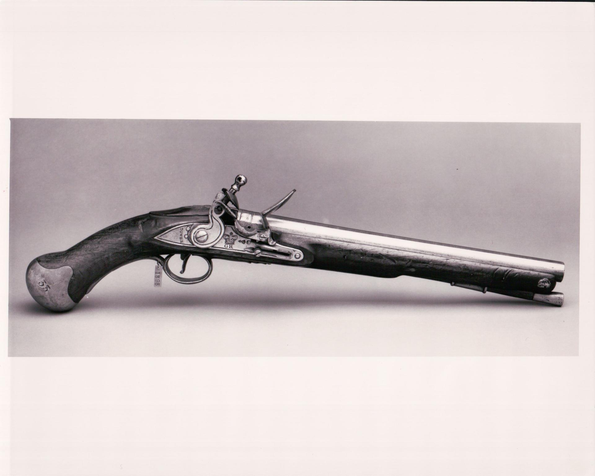 Flintlock military pistol - Sea Service Pattern