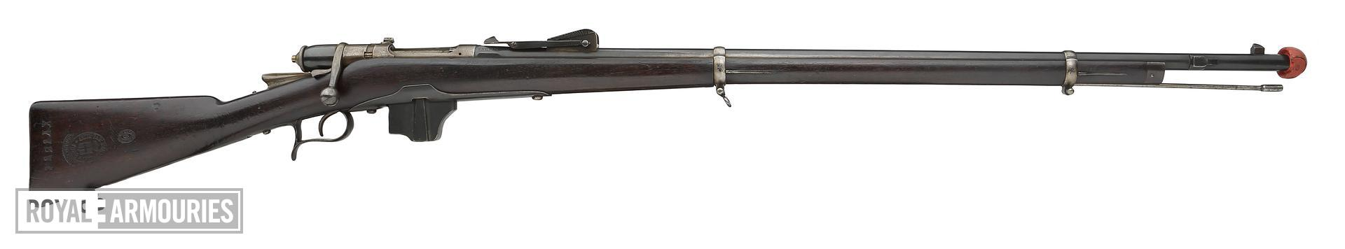 Centrefire bolt-action rifle - Vetterli-Vitali Model 1870/87