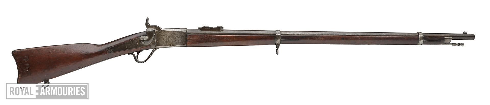 Centrefire breech-loading rifle - Peabody
