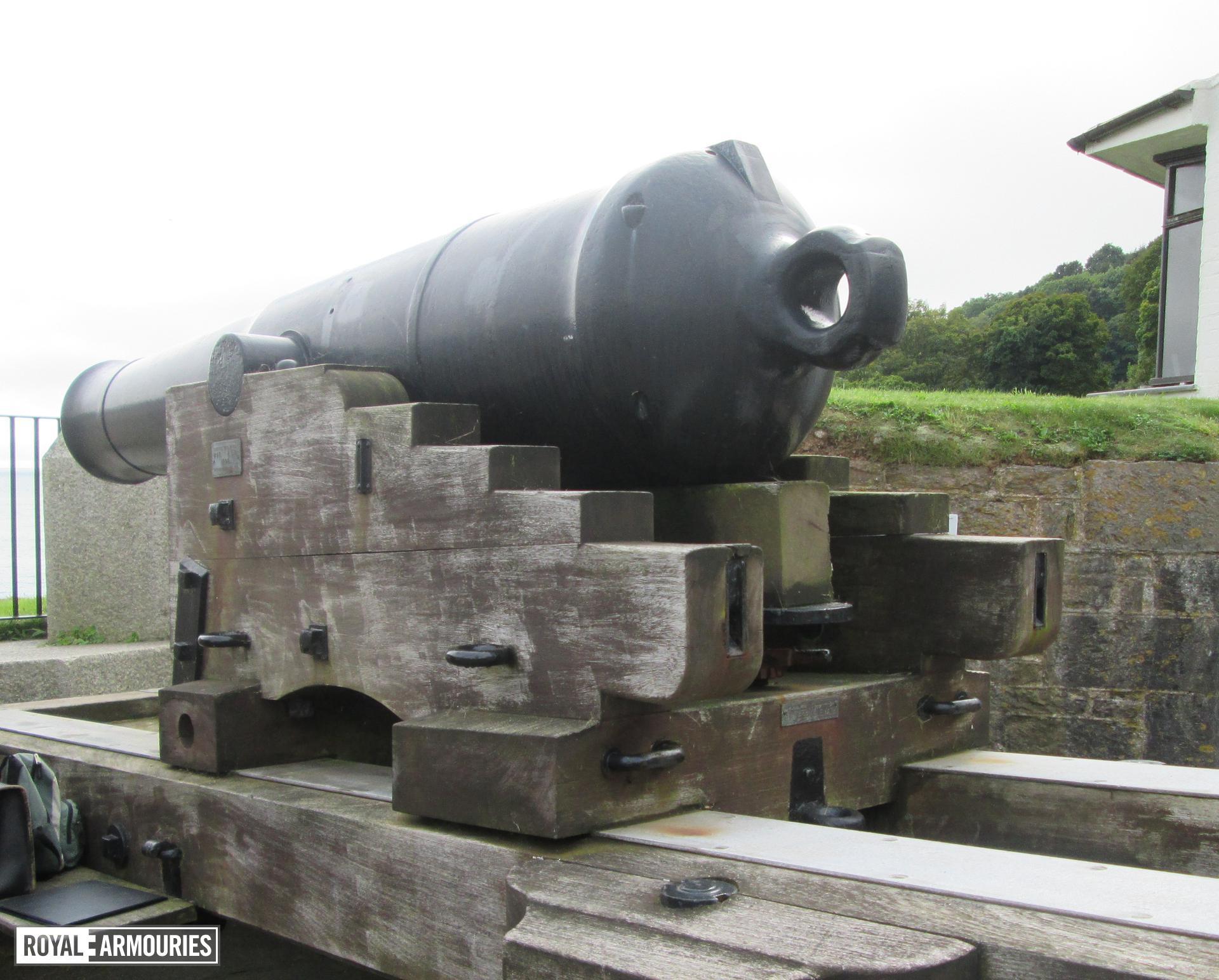 Image of the 64pr gun barrel, XIX.960.