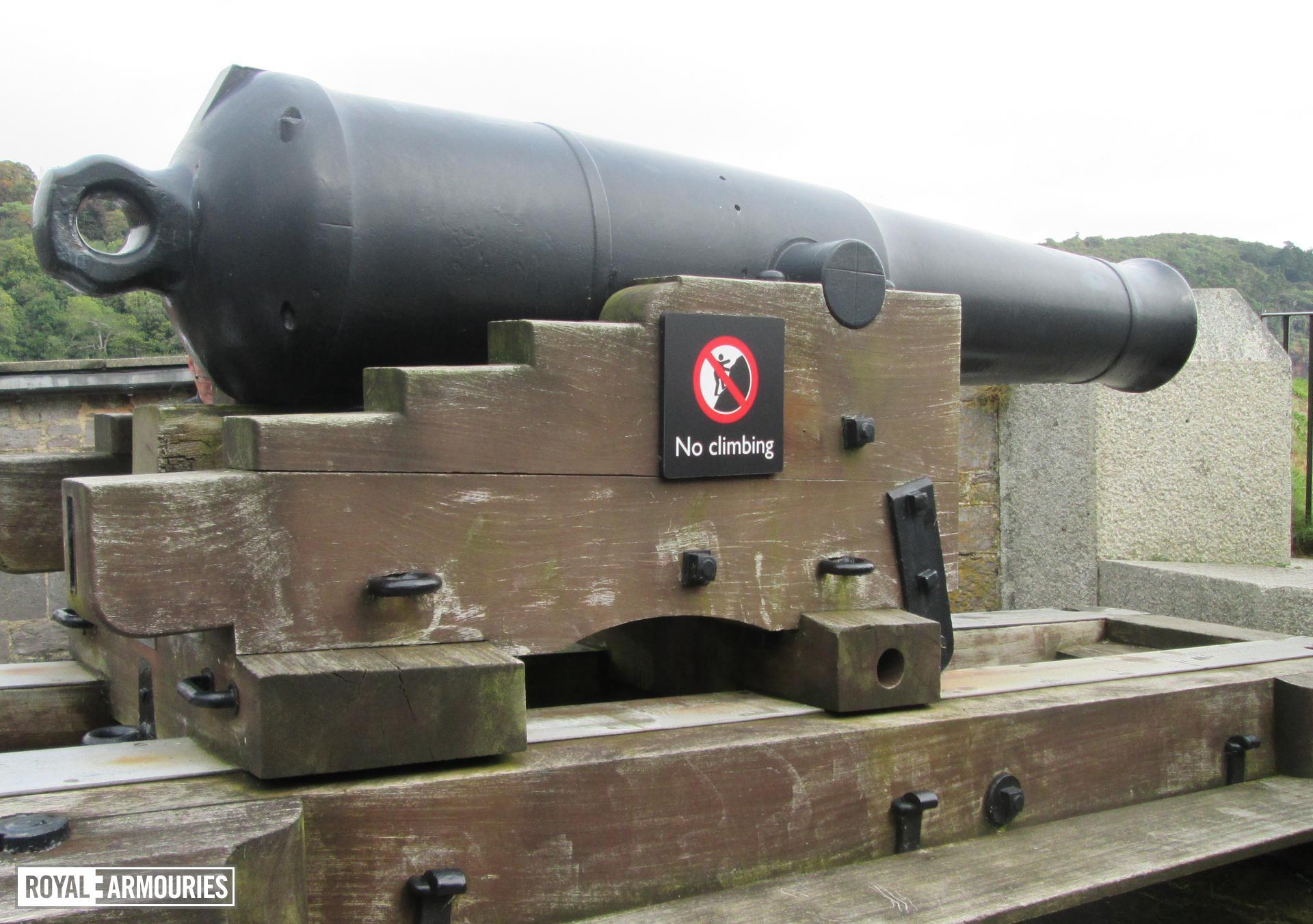 64 pr gun - 64 pr Millar Pattern RML