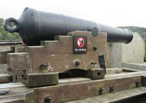 Thumbnail image of Image of the 64pr gun barrel, XIX.960.