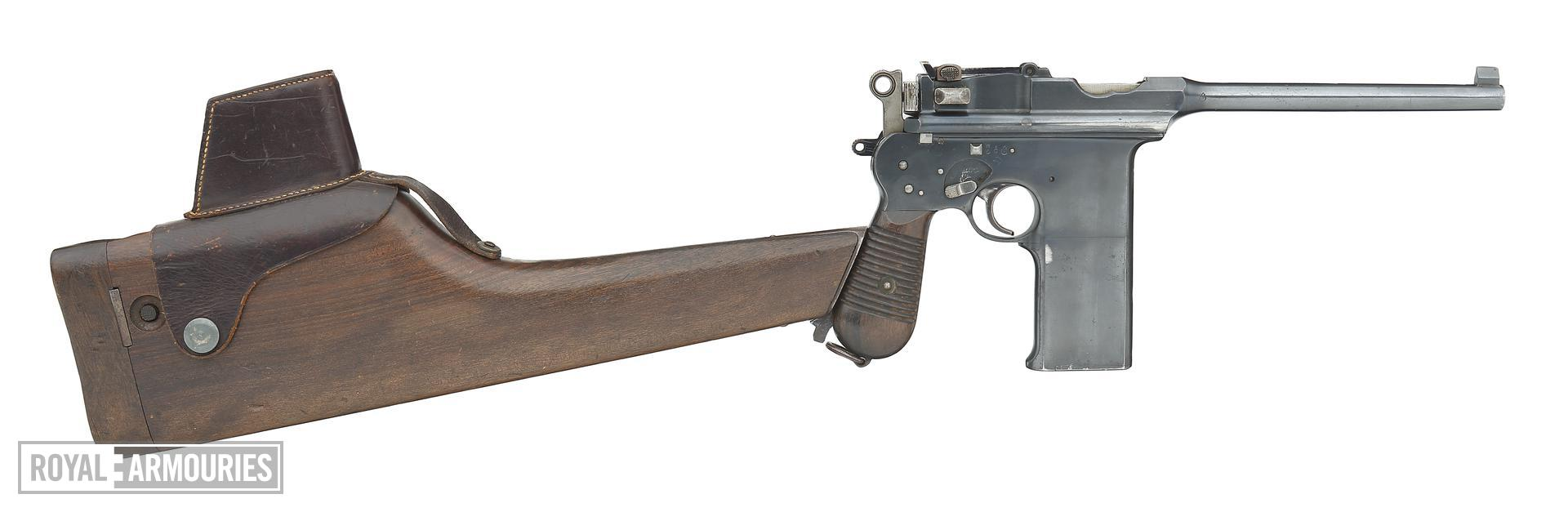 Centrefire automatic pistol - Astra M902